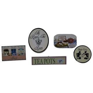 """The Queen's Treasures Tea Room Signs Sized for Interchangeable 18"""" Doll Shop - Accessories for 18"""" Doll Furniture"""