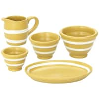 "The Queen's Treasures American Yellowware Collection Kitchen Accessories Fits 18"" Girl Doll Furniture & Accessories"