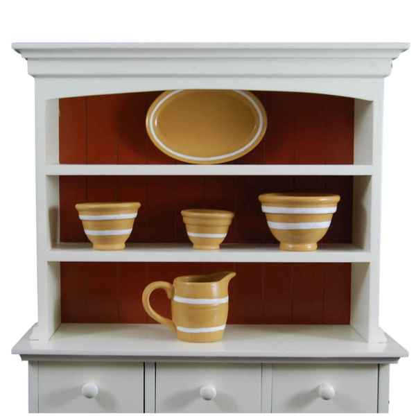 """The Queen's Treasures American Yellowware Collection Kitchen Accessories Fits 18"""" Girl Doll Furniture & Accessories"""