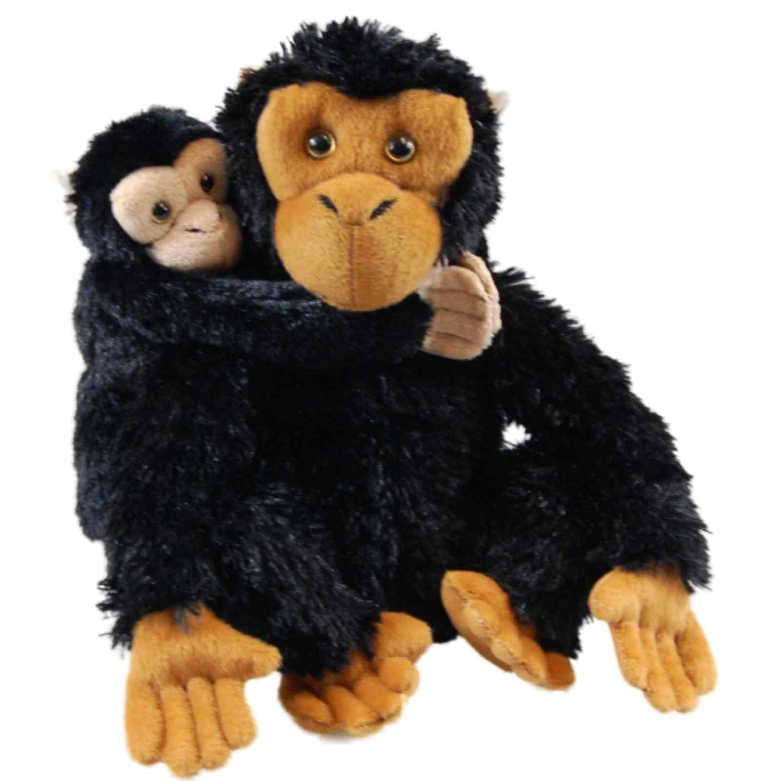 The Queen's Treasures Mother & Baby Plush Chimpanzee for ...