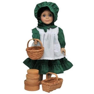 "The Queen's Treasures Officially Licensed Little House on the Prairie 18"" Doll 3 Shaker Boxes and Baskets Accessory Set"