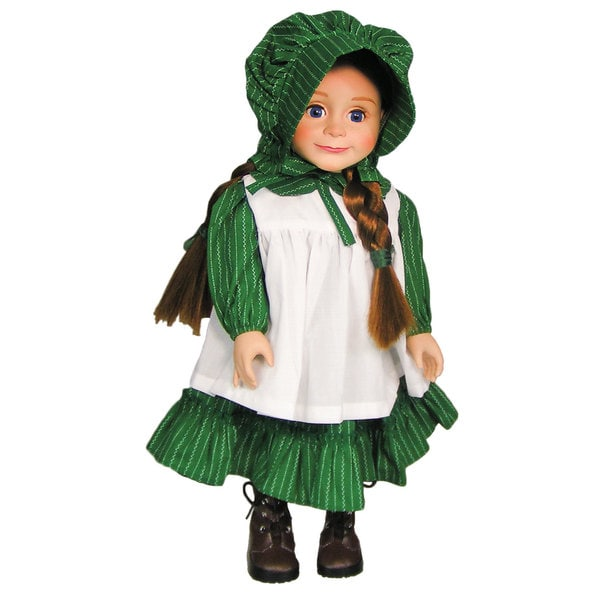 "The Queen's Treasures Officially Licensed Little House on the Prairie Doll Dress for 18"" Dolls"