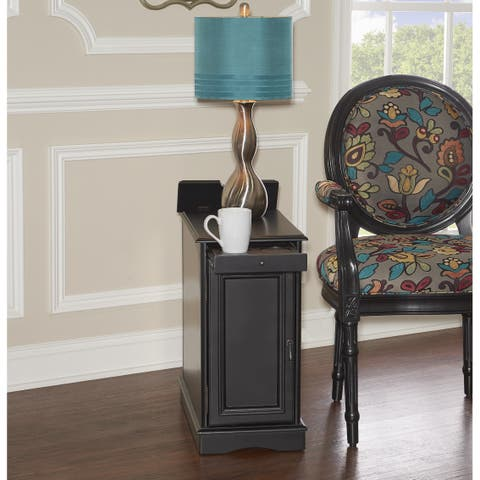 Powell Pickford Black Accent Table