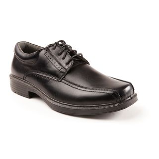 Deer Stags Men's 902 Williamsburg Black Leather Run-Off Toe Oxford