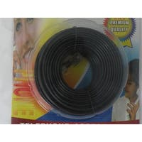 Trisonic 50-feet Telephone Phone Extension Cord Cable Line Wire