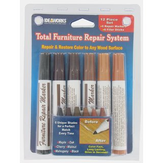 Ideaworks Jobar International total Furniture Repair System (Pack of 12)