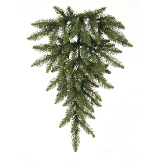 Vickerman 30-inch Camdon Fir Teardrop Swag with Built-in 35 Clear LED Lights