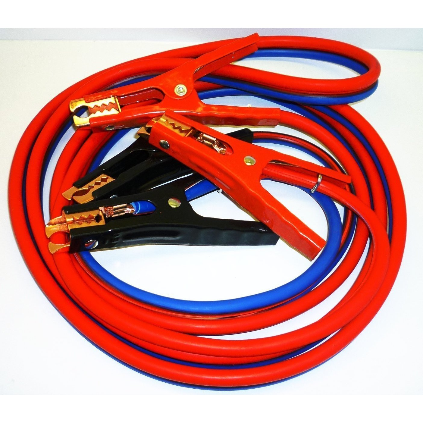 12-foot Premium Heavy-duty No-tangle 500-amp 6-gauge Jump...