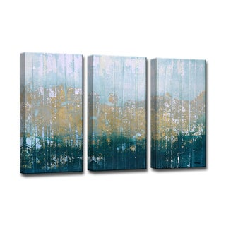Harbour Point' by Norman Wyatt Jr. 3-Piece Wrapped Canvas Wall Art Set