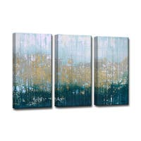Ready2HangArt 3-piece 'Harbour Point' by Norman Wyatt Jr. Canvas Art - Blue