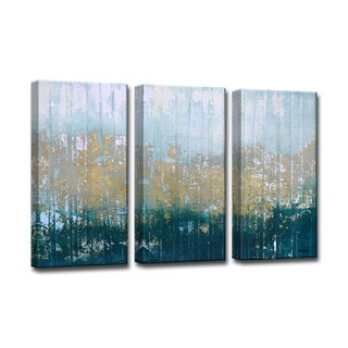 Ready2HangArt 3-piece 'Harbour Point' by Norman Wyatt Jr. Canvas Art