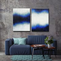 Ready2HangArt  2-piece 'Currents and Tides' by Norman Wyatt Jr. Canvas Art