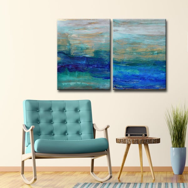 Ready2HangArt 'Sea Spray' by Norman Wyatt Jr. Canvas Art