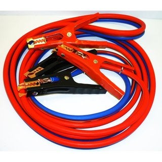 12-foot 500-amp 6-gauge No-tangle Super Heavy-duty Battery Booster/Jumper Cables With Free Travel Case