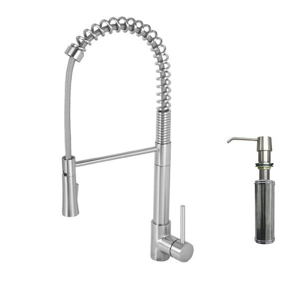 Moen Align Stainless Steel Pullout Spray Single Hole Kitchen Faucet