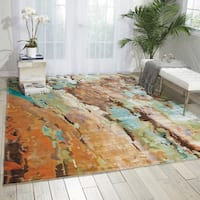 Nourison Prismatic Multicolor Area Rug - Multi