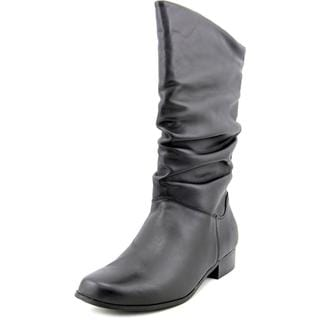 St. John's Bay Women's Jamie Black Leather Boots