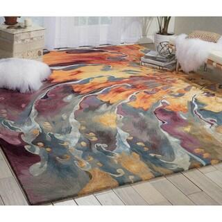 Nourison Prismatic Multicolor Area Rug (5'6 x 7'5)