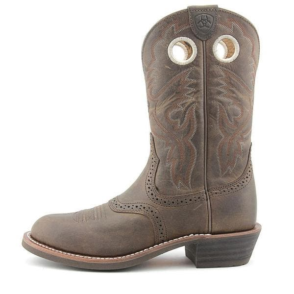 ca883615b99 Ariat Women's Heritage Roughstock Brown Leather Boots