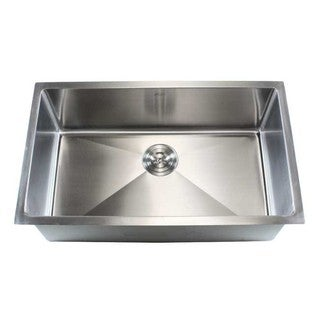 Stainless Steel 30-inch Single-bowl Undermount Kitchen Sink