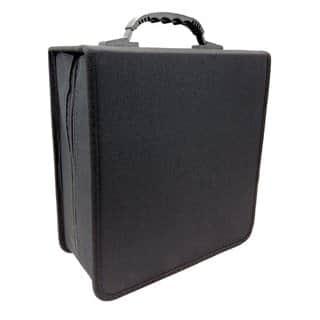 iLogic Black Nylon 350-disc CD/DVD Wallet Storage Case|https://ak1.ostkcdn.com/images/products/12352202/P19180296.jpg?impolicy=medium