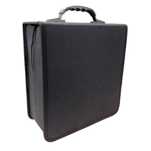 iLogic Black Nylon 350-disc CD/DVD Wallet Storage Case