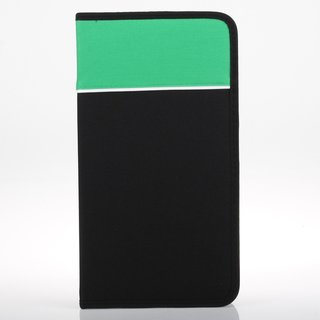 72 Disc Capacity Black Green CD / DVD Wallet