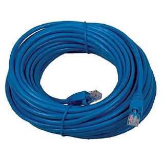 Boostwaves RJ45 Blue 25-foot Category-5e Wired Internet LAN Patch Networking Cable