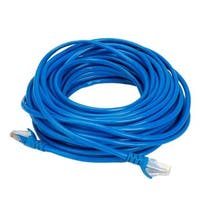 Boostwaves 50-foot Cat5e Wired Internet LAN Patch RJ45 Networking Cable