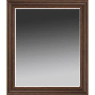 Mirror: Wood Tone Traditional