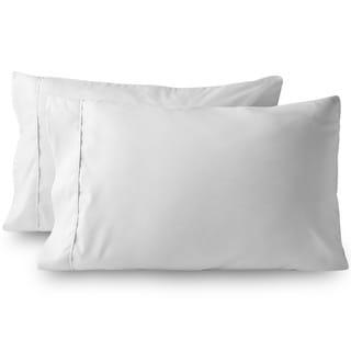 Bare Home Standard Size Microfiber Pillowcase Set of 2, Hypoallergenic