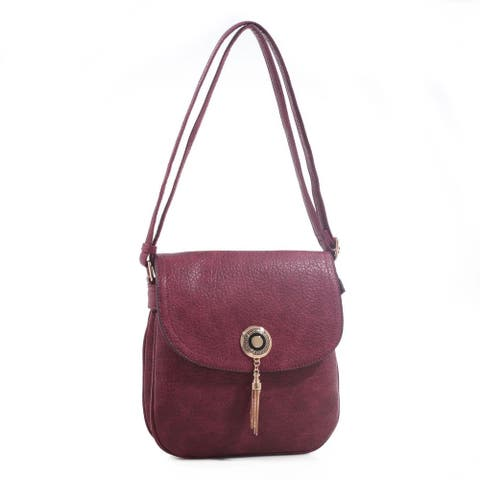 MKF Collection Isobel Standout Saddle Bag by Mia K.