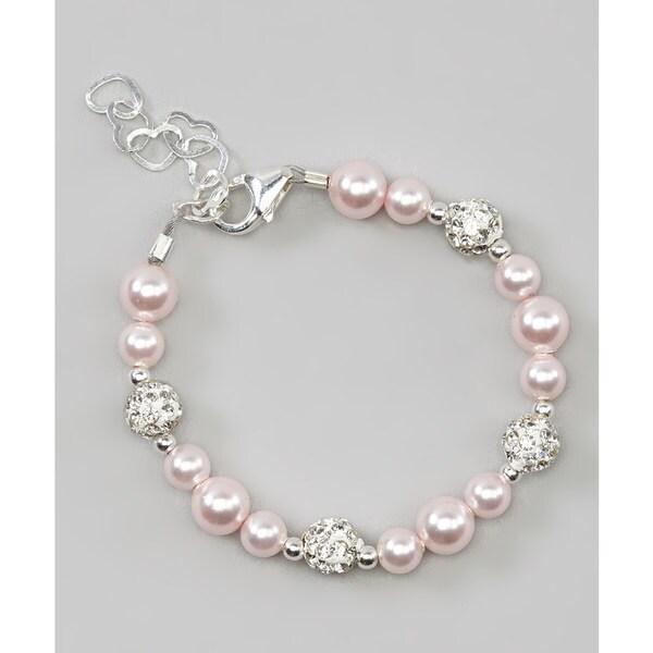 Cute Pink Baby Bracelet Jewelry