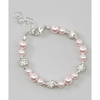 Cute Pink Baby Girl Bracelet Jewelry