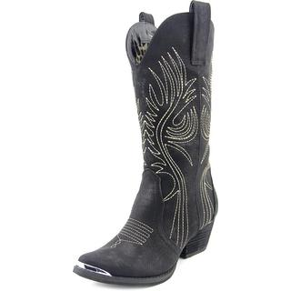 Very Volatile Women's 'Railroad' Faux Leather Boots