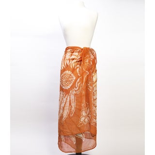 Cabana Sarong - Orange Blossom (India)