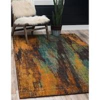 Unique Loom Lilly Jardin Area Rug - 5' x 8'