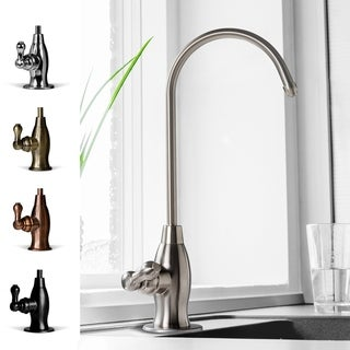 iSpring #GK1-BN Brushed-nickel Designer Coke-shaped High-spout Drinking Water Faucet