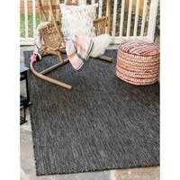 Unique Loom Outdoor Solid Area Rug - 5' x 8'