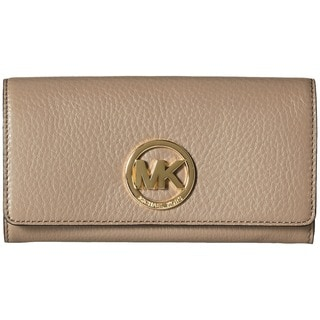 Michael Kors Fulton Dark Dune Carry-all Wallet