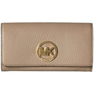 Michael Kors Fulton Dark Dune Carry-all Wallet