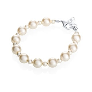 Crystal Dream Luxury Elegant Pearl Infant Bracelet