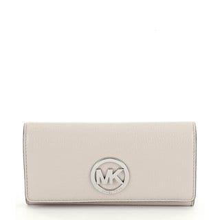 Michael Kors Fulton Cement Carryall Wallet