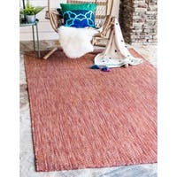 Unique Loom Outdoor Solid Area Rug - 6' x 9'