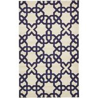 Unique Loom Charlotte Trellis Area Rug - 5' X 8'