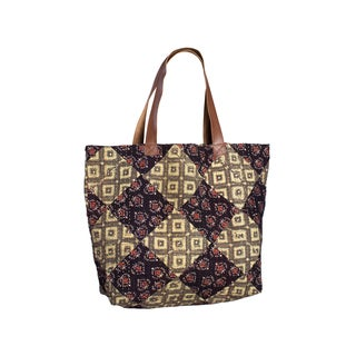 Kantha Diamond Tote - Mountain View (India)