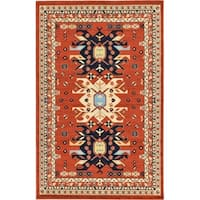 Unique Loom Oasis Taftan Area Rug - 6' x 9'