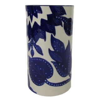 Handmade Le Souk Ceramique Jinane Stoneware Utensil/Wine Holder (Tunisia)