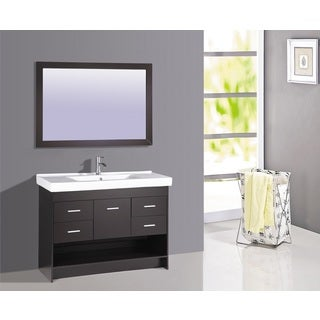 Legion Furniture 48-inch Bathroom Sink Vanity With Matching Mirror