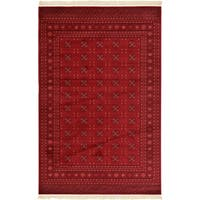 Unique Loom Coolidge Tekke Area Rug - 6' x 9'